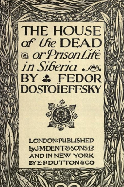 The House of the Dead Book Cover (1911)