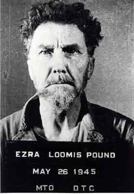 Ezra Pount mugshot, May 1945
