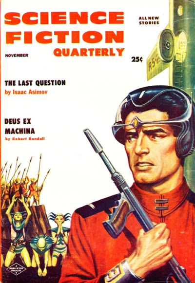 Cover, Science Fiction Quarterly, November 1956